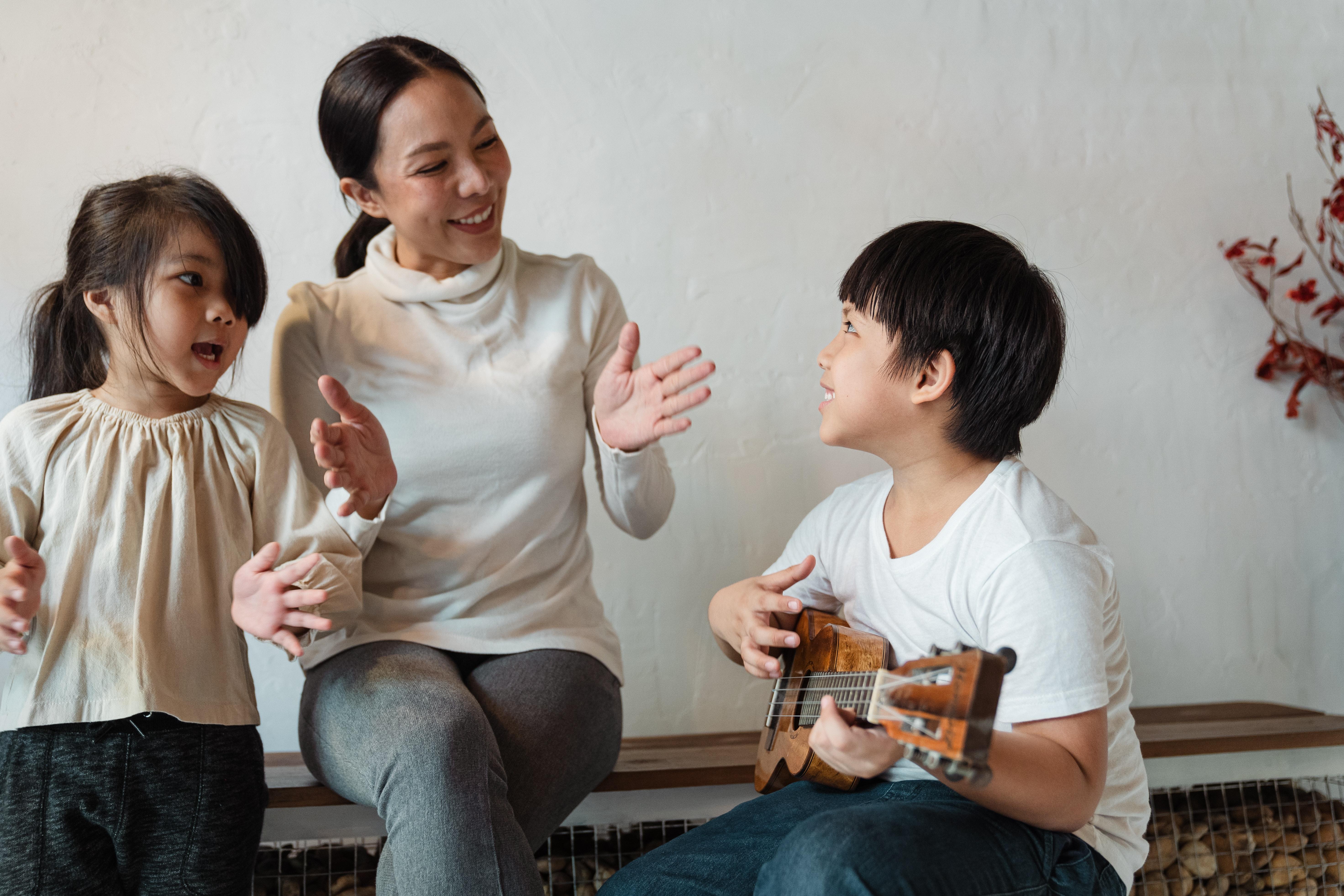 Praktische Umsetzung der Kindermusiktherapie